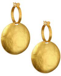 Paula Mendoza Ianimi Tule Earrings - Metallic