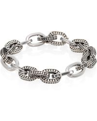John Hardy - Dot Sterling Silver Small Link Bracelet - Lyst