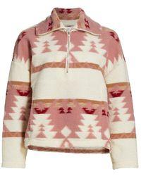 Xirena Dakota Fleece Jacket - Multicolor