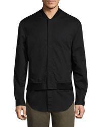 3.1 Phillip Lim - Cotton Bomber Jacket - Lyst