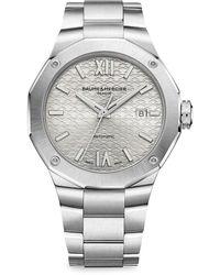 Baume & Mercier Riviera 10622 Stainless Steel Bracelet Watch - Metallic