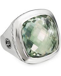 David Yurman Albion Sterling Silver & Gemstone Ring - Metallic