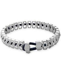 Miansai Harbour Sterling Silver Bracelet - Metallic