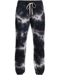 Sundry Tie-dye Sweatpants - Black