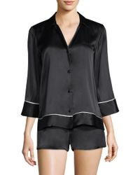 Natori - Key Essentials Pajama Set - Lyst