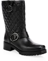MICHAEL Michael Kors - Rosario Quilted Leather Mid-calf Boots - Lyst