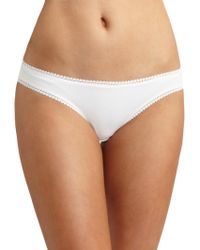 On Gossamer - Cabana Cotton Bikini - Lyst