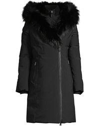 Mackage Akiva-bx Hooded Down Jacket - Black