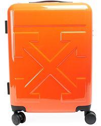 Off-White c/o Virgil Abloh Arrow Trolley Suitcase - Orange