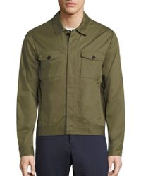 Original Penguin   Pima Cotton Military Jacket   Lyst