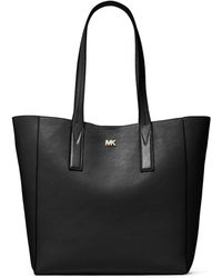 Michael Kors - Large Leather Tote Bag - Lyst