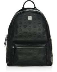 MCM - Embossed Backpack - Lyst