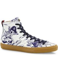Gucci Major High-top Sneakers - Blue