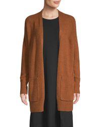 Eileen Fisher - Organic Cotton Cardigan - Lyst
