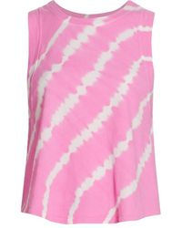 Year Of Ours Tie-dye Top - Pink