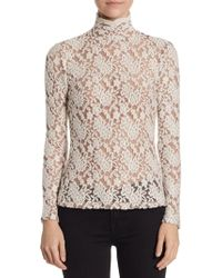 Nightcap - Floral Lace Sweater - Lyst