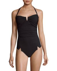 Shan - Arsen One-piece Bandeau Swimsuit - Lyst