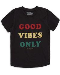 Spiritual Gangster - Boy's Good Vibes T-shirt - Lyst