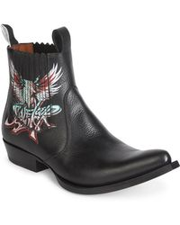 Givenchy - Save Our Soul Leather Cowboy Boots - Lyst