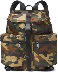 86caab8b41e5 Lyst - Michael Kors Grant Camouflage Backpack in Green for Men