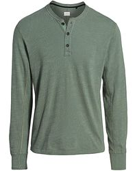 Rag & Bone Basic Henley - Green