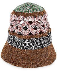 Missoni Woven Bucket Hat - Multicolor