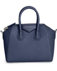 Givenchy - Antigona Small Leather Satchel - Lyst