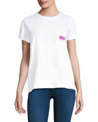 Vineyard Vines - Banana Leaf Pocket Tee - Lyst