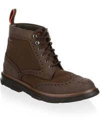 Swims - Storm Brogue Boots - Lyst
