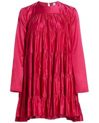 Merlette - Soliman Embroidered Tunic Dress - Lyst