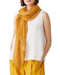 Eileen Fisher Textured Scarf - Multicolor