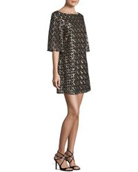 Laundry by Shelli Segal - Sequin Dress - Lyst