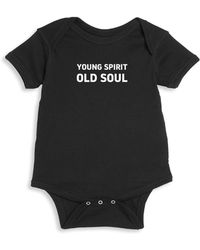 Knowlita - Baby's Old Soul Cotton Bodysuit - Lyst
