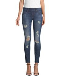 True Religion - Jennie Runway Skinny Jeans - Lyst