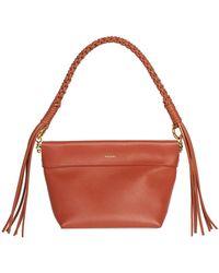 Yuzefi Leather Shoulder Bag - Multicolor