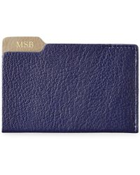 Graphic Image - Marco Leather Card Case - Lyst