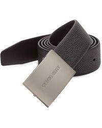 Giorgio Armani - Leather Belt - Lyst