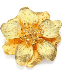 Kenneth Jay Lane | Anemone Flower Pin | Lyst