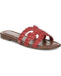 Sam Edelman Beckie Woven Leather Sandals