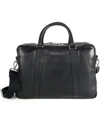 Shinola Essex Slim Briefcase - Black