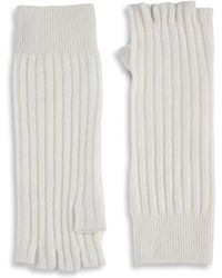 Saks Fifth Avenue - Knitted Cashmere Gloves - Lyst