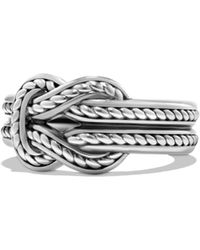 David Yurman - Maritime Collection Sterling Silver Ring - Lyst