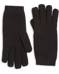 Loro Piana Cashmere Gloves - Black