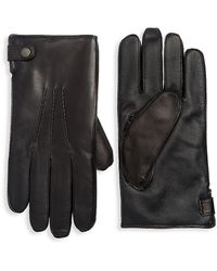 Saks Fifth Avenue - Collection Leather Tech Gloves - Lyst