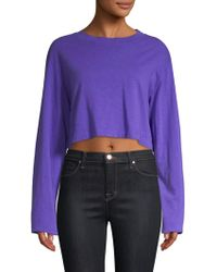 Cotton Citizen - Tokyo Cropped Pullover - Lyst
