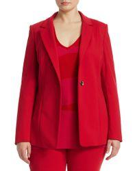 Marina Rinaldi - Button-front Jacket - Lyst