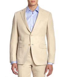 Saks Fifth Avenue - Samuelsohn Classic-fit Linen & Silk Sportcoat - Lyst
