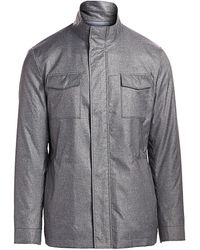 Saks Fifth Avenue Collection Field Jacket - Gray