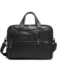 Tumi Alpha Bravo T-pass Expandable Briefcase - Black