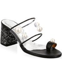 5dacd7029c92 Elina Linardaki - Zero Gravity Toe Ring Sandals - Lyst